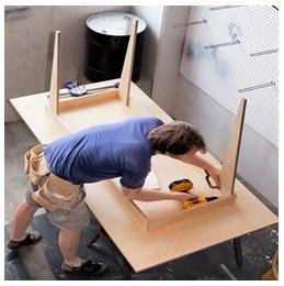 Сборка столов по низким ценам в Кирове от специалистов
