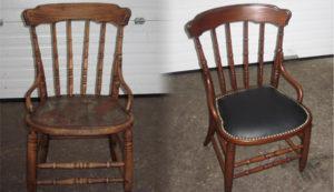 Перетяжка стульев на дому недорого в Кирове
