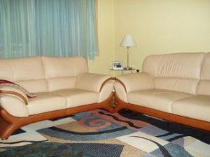 Перетяжка кожаной мебели в Кирове
